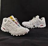 Кроссовки Salomon Speedcross 3 Белые Мужские Саломон (размеры: 41,42,43,44,45) Видео Обзор, фото 8