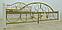 Металлическая кровать Жозефина на деревянных ножках. ТМ Металл-Дизайн, фото 8