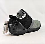 Кроссовки Adidas Чёрно - Серые Мужские Адидас (размеры: 40,41,42,43,44) Видео Обзор, фото 4