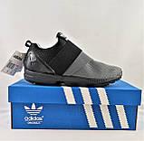 Кроссовки Adidas Чёрно - Серые Мужские Адидас (размеры: 40,41,42,43,44) Видео Обзор, фото 8