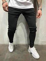 Джинсы мужские черные узкие