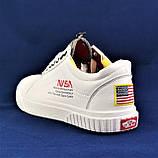 Кроссовки NASA Shuttle Белые Кеды Ванс Женские (размеры: 36,37,38) Видео Обзор, фото 9