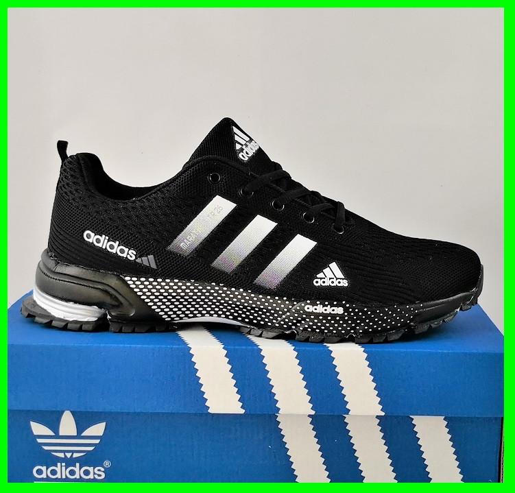 Кроссовки Adidas Fast Marathon Черные Мужские Адидас (размеры: 41,44,45,46) Видео Обзор