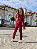 Детский спортивный костюмтрикотаж двухнить размер: 122, 128, 134, 140, 146, фото 6