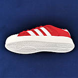 Кроссовки Adidas Superstar Красные Адидас Суперстар Женские Адидас (размеры: 36,37,38,39,40,41) Видео Обзор, фото 5