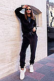 Велюровый спортивный костюм батник и штаны размер: 42-46, фото 2