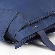 Сумка женская синяя Dolly 485 на один отдел, фото 3