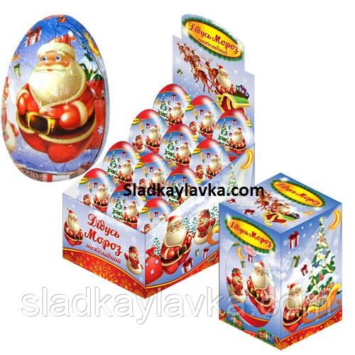 Яйцо шоколадное Дед Мороз (ANL) 60 гр