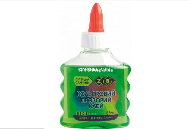 Клей для слайма Zibi прозрачный зеленый, фото 2