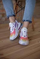 Стильные женские кроссовки Nike, разноцветные