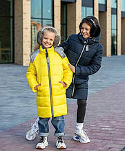 Дитяче зимове пальто на дівчинку Злата
