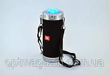 Портативна колонка JBL S07 - мобільна bluetooth колонка зі світломузикою, FM радіо, MP3, фото 2