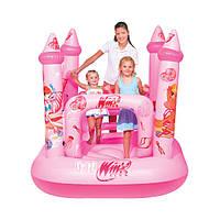 """Детский надувной игровой центр """"Замок Winx"""" BestWay 92010"""