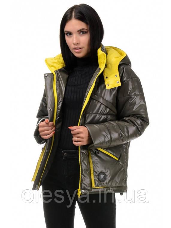 Молодежная женская демисезонная куртка  Бланш Размеры 42- 48