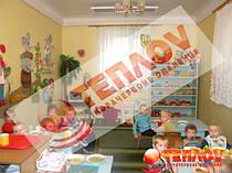 Отопление детского сада