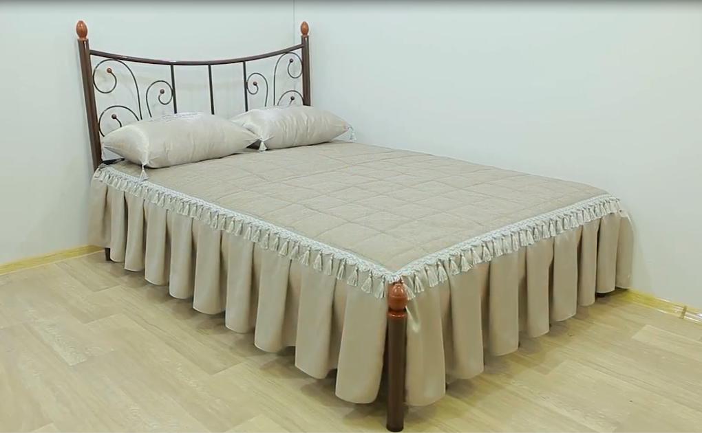 Металлическая кровать Калипсо-2 . ТМ Металл-Дизайн
