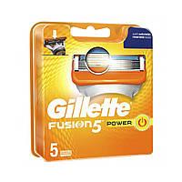 Сменные картриджи Gillette Fusion 5 Power 5 шт (7702018458936)