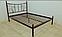 Металлическая кровать Калипсо-2 . ТМ Металл-Дизайн, фото 2