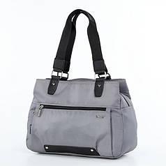 Женская сумка стильная на три одела Dolly 477 серая