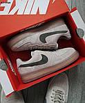 Мужские кроссовки Nike Air Force 1 Mid X Reigning Champ (серые/черный значек) KS 1540, фото 5