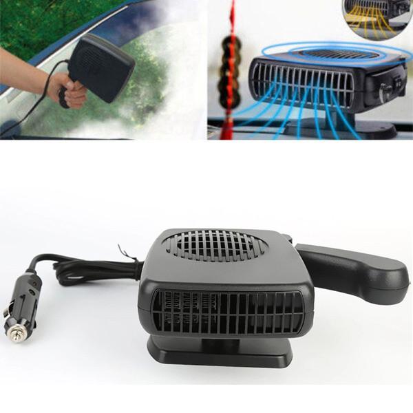 Автомобильный тепловентилятор и обдув стекол 2 в 1 Auto Heater Fan Climo sj-006 автообогреватель от