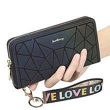 Жіночий гаманець-клатч Baellerry N2823 Blue/Pink (4196-11937a)
