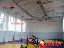 Отопление борцовского зала