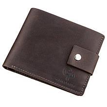 Чоловіче портмоне у вінтажному стилі Grande Pelle Коричневий (11230)