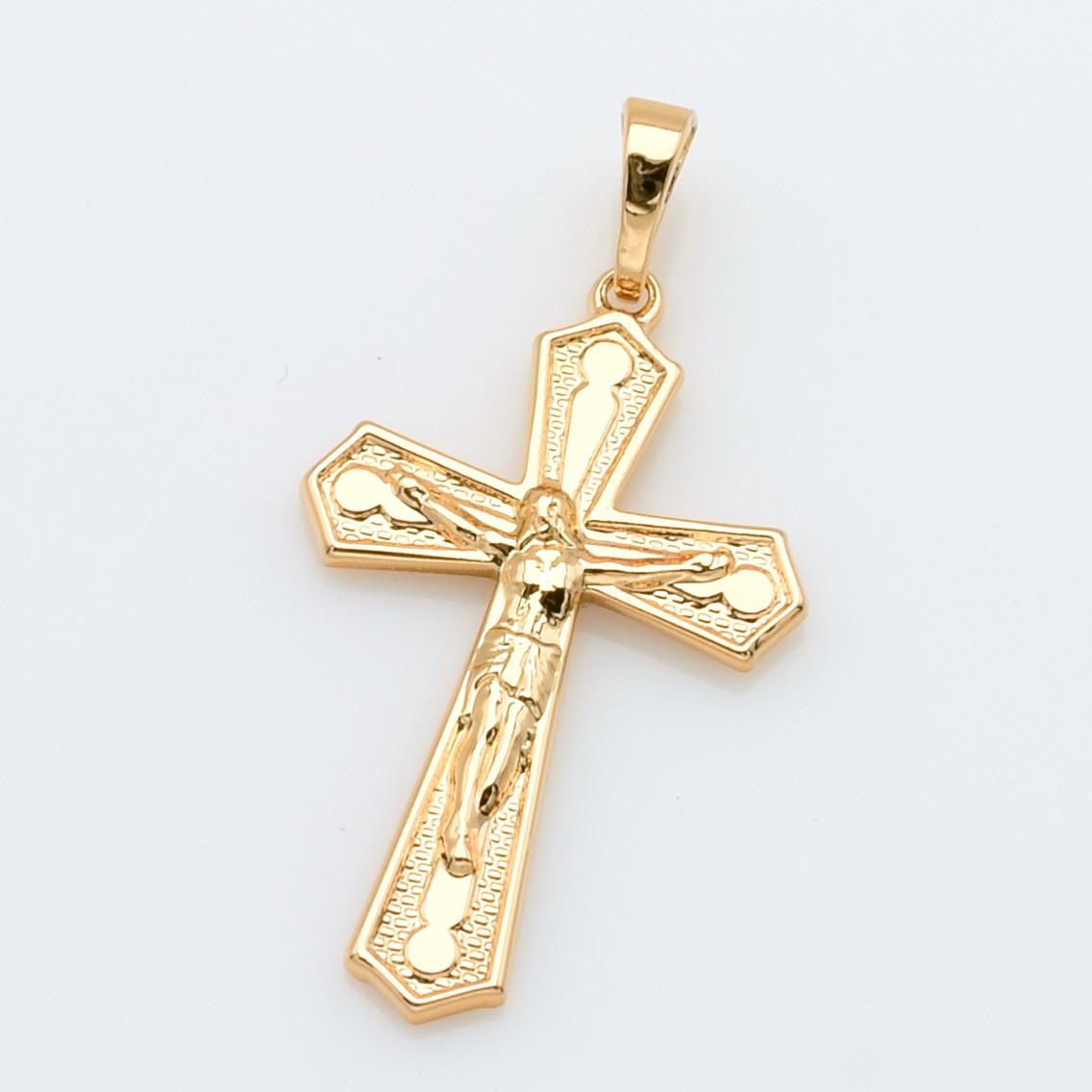 XUPING Кулон Крест Позолота 18к Высота 3.5см, Ширина 1.8см