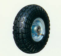 Колесо для тачки 3.50-4 пневматическое с ассиметричной ступицей