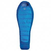 Спальний мішок Pinguin Mistral 185 Blue Left Zip