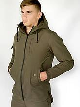 """Куртка Softshell """"Intruder"""" S Хаки (1590399965)"""