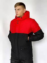 Демисезонная куртка Waterproof Intruder XL Красно-черная (1589546211/3)