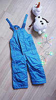Детские термо-штаны, полукомбинезон impidimpi 74\80, фото 1