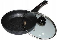 Алюминиевая сковорода с антипригарным покрытием Frying Pan Wimpex WX2405 (Teflon) 24 см Лучшая цена!