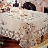Скатертина льон 140 -180, фото 3