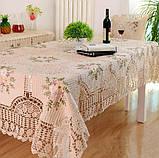 Скатертина льон 140 -180, фото 5