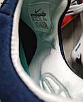 Кроссовки Nike Air Max Zero (сине-белые) KS 001, фото 4