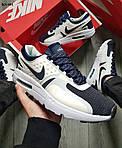Кроссовки Nike Air Max Zero (сине-белые) KS 001, фото 7
