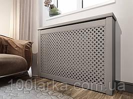 Дерев'яні решітки на радіатори опалення екран (короб) на батарею РР1-К60С