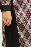 Сукня ТМ ALL POSA Клео червоний 52 (100285) 54, фото 4
