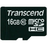 Карта памяти Transcend Micro SDHC 16Gb class 10 USB
