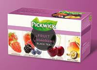 Pickwick чай черн. ассорти (клубн, лесн. ягоды, вишня, троп. фрукты), 20 шт.