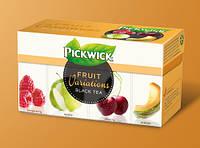 Pickwick чай черн. ассорти (малина, яблоко, вишня, дыня), 20 шт.