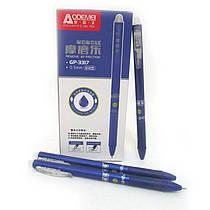 Автоматическая шариковая ручка стираемая, с резинкой, 3317-BL