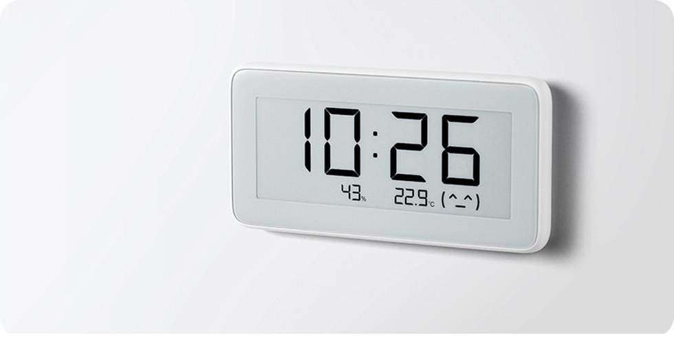 Часы термометр гигрометр Xiaomi Mi home (Mijia) Temperature And Humidity Electronic Watch LYWSD02MMC