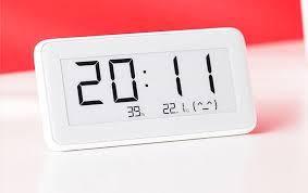 Часы термометр гигрометр Xiaomi Mi home (Mijia) Temperature And Humidity Electronic Watch LYWSD02MMC, фото 2