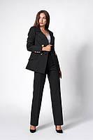 Костюм женский удлиненный жакет и брюки 42-48 размеры в расцветках