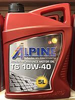 Alpine TS 10W-40 ACEA A3/B4  API SL/CF 5л
