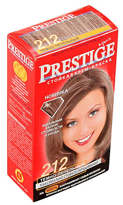 Краска для волос Престиж 212  Тёмно пепельный (3800010504157)